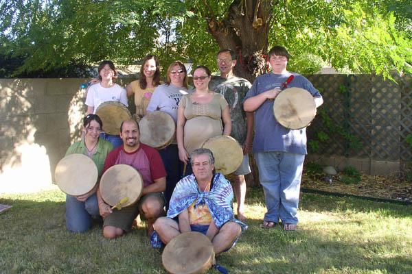 Happy Parents & Drums