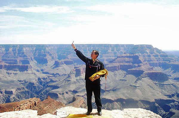 Pipe Ceremony in Grand Canyon