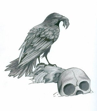 Crow as an Omen of Change and a Messenger of Death - Nature Wise
