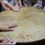 feeding-drum